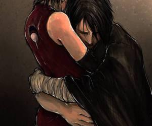 sasuke, sarada, and uchiha image