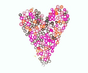 beautiful, pink, and heart image