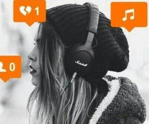 music, alone, and sad image