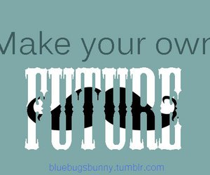 future, mustache, and text image