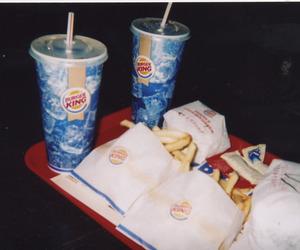 burger king, disposable camera, and food image