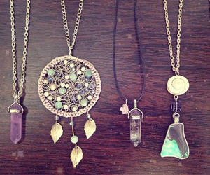 crystal, bohemian, and dreamcatcher image