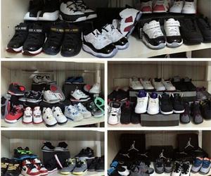 air jordan, Basketball, and child image