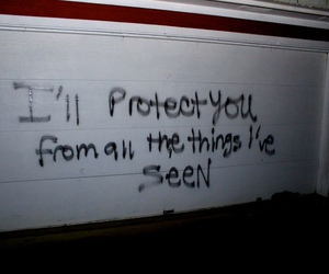 quotes, grunge, and protect image