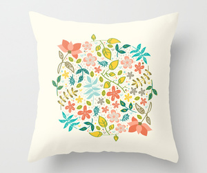 flower, society6, and home decoration image