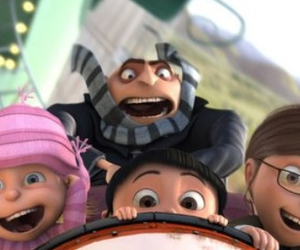 despicable me, GRU, and agnes image