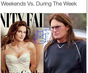 memes, caitlyn, and bruce jenner image