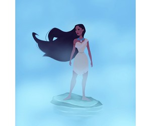 disney, pocahontas, and 20th anniversary image