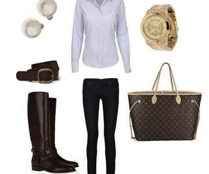 clothes, Louis Vuitton, and fashion image