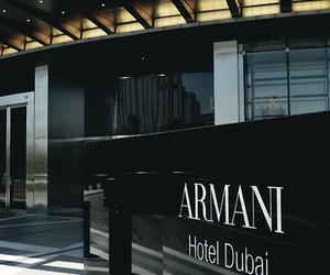 Armani, Dubai, and luxury image