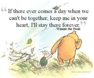 winnie the pooh, quotes, and forever image