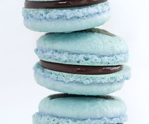 food, blue, and chocolate image