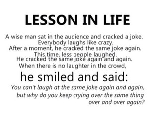 life, lesson, and quote image
