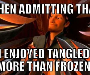 tangled, frozen, and disney image