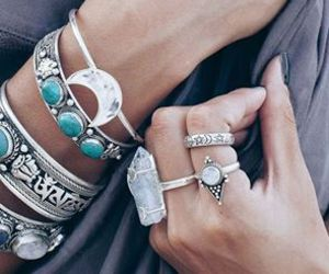 jewelry, boho, and bracelet image