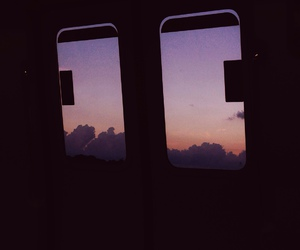 hipster, sunset, and travel image