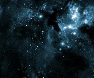 blue, galaxy, and dark image
