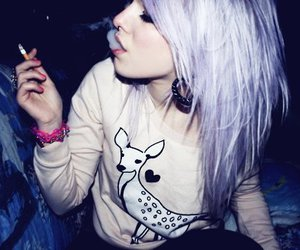 cigarette and emo image