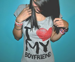 boyfriend, shirt, and heart image