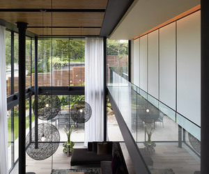 architecture, wooden ceiling, and stanton williams image