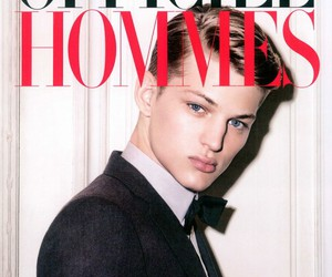 cover, magazine, and male model image