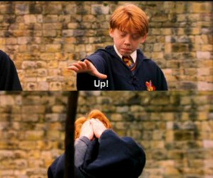 potter, ron, and weasley image