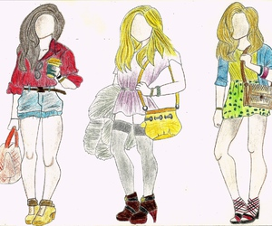 breezy, clothing, and illustration image