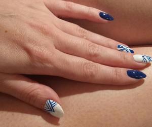 blue, fashion, and finger image