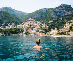 summer, travel, and beach image