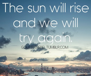 indie, quotes, and sun image