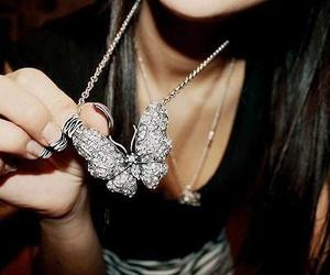 girl, shine, and necklet image