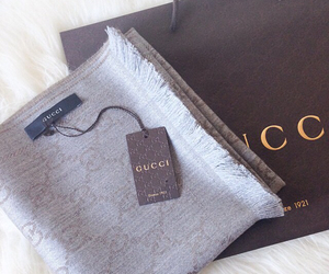 beautiful, gucci, and scarf image