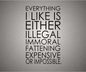 quote, impossible, and expensive image