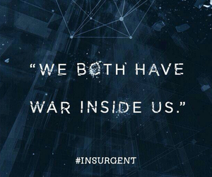 insurgent, quote, and divergent image