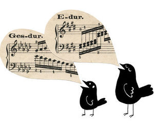 birds and music image