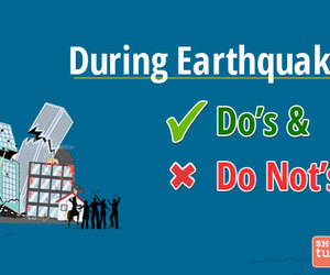 earthquake and safet tips image