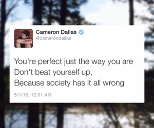 cameron, Dallas, and twitter image