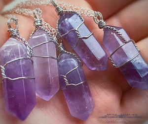 accessories, boho, and crystal image