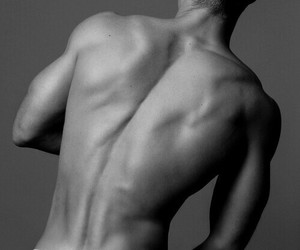 black and white, hot guy, and male model image