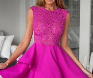 crochet, lace, and party dress image