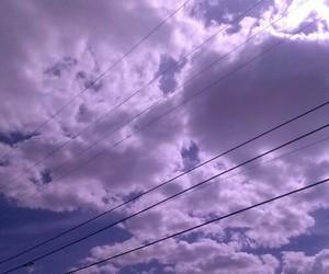 dark, grunge, and sky image