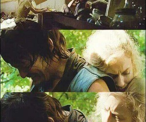 daryl, beth, and the walking dead image