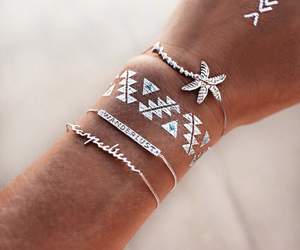 summer, tattoo, and accessories image