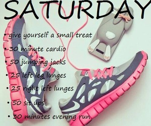 fitness, pink, and shoes image