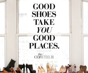 shoes, place, and quote image
