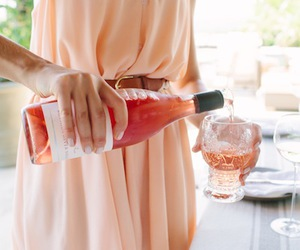 fashion, dress, and drink image