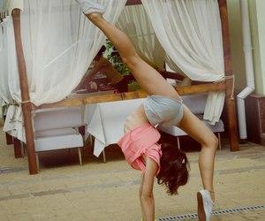 flexibility, gymnastics, and flexible image