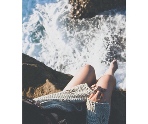 fashion, ocean, and girl image