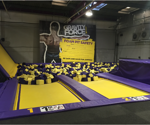trampoline park, gravity force, and gravity force trampoline image