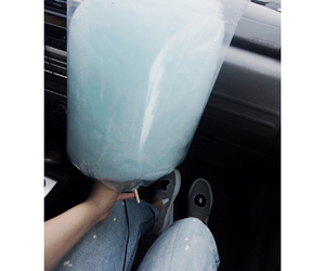blue, candy, and coton image